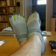 """Barefoot"" running in Vibram FiveFingers.  Thoughts and observations of running in foot gloves."